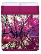 Willow Pink Duvet Cover