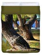 Willow Trees Duvet Cover