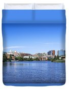 Wilmington Skyline Duvet Cover