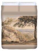 Wilmot's Hill, Kent Duvet Cover