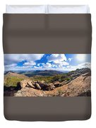 Wilpena Pound And St Mary Peak Duvet Cover