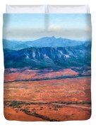 Wilpena Pound  Eh Duvet Cover
