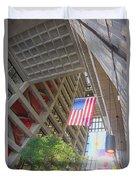 Wilson Hall At Fermilab - Interior Duvet Cover