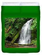 Wilson River Hwy Waterfall Duvet Cover