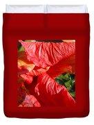Wilting Hibiscus Two Duvet Cover