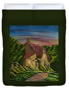 Wiltshire At Sunset Duvet Cover