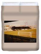 Wimbledon Fc - Plough Lane - Main Stand 1 - 1969 Duvet Cover