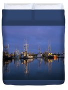Winchester Bay Reflections Duvet Cover
