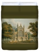 Winchester Cathedral Duvet Cover by John Buckler