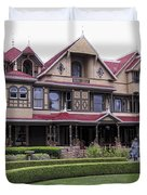 Winchester Mystery House Duvet Cover by Daniel Hagerman