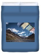 Wind And A Prayer Duvet Cover