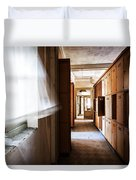 Wind Blows Past Times Away - Urbex Duvet Cover