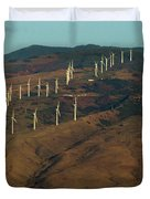 Wind Generators-signed-#0037 Duvet Cover