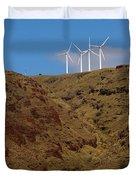 Wind Generators-signed-#0368 Duvet Cover