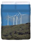 Wind Generators-signed-#0371 Duvet Cover
