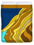 Wind Goddess Duvet Cover