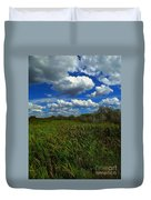 Wind In The Cattails Duvet Cover