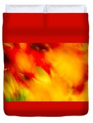Wind In The Peaches Duvet Cover