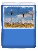 Wind Power Duvet Cover