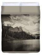 Wind River Lake Duvet Cover