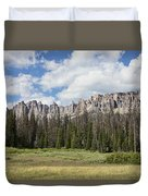 Wind River Mountains Duvet Cover