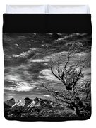 Wind Shaped Tree #2 - Patagonia Duvet Cover