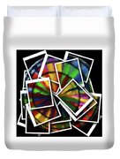 Wind Spinner Collage Duvet Cover