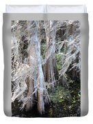 Wind Through The Cypress Trees Duvet Cover