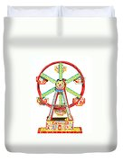 Wind-up Ferris Wheel Duvet Cover