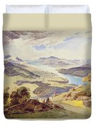 Windermere From Ormot Head Duvet Cover