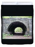 Windham Rail Trail Bridge Duvet Cover