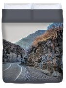 Winding Canyon Road Duvet Cover