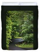 Winding Road Bluestone State Park West Virginia Duvet Cover