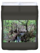 Winding Sopchoppy River Duvet Cover