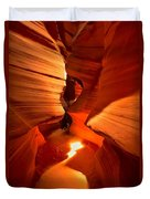 Winding Through Antelope Canyon Duvet Cover