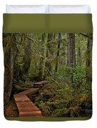Winding Through The Willowbrae Rainforest Duvet Cover