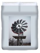 Windmill Frost Duvet Cover