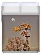 Windmill Fullmoon Duvet Cover