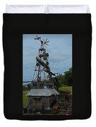 Windmill House 1 Duvet Cover