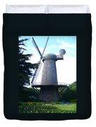 Windmill In Golden Gate Park Duvet Cover