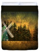Windmill On My Mind Duvet Cover