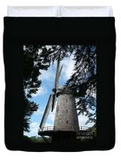 Windmill Through The Trees Duvet Cover