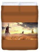 Windmills Duvet Cover