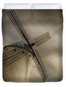 Windmills At Campo De Criptana Duvet Cover