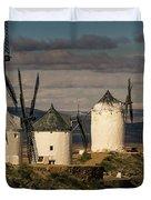 Windmills Of La Mancha Duvet Cover by Heiko Koehrer-Wagner