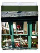 Window At Corcreggan's Mill Duvet Cover