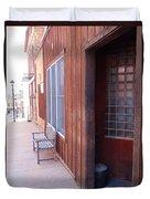 Window Bench Seat Color Neutral Duvet Cover