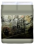 Window Drawing 02 Duvet Cover
