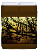 Window Drawing 06 Duvet Cover by Grebo Gray