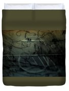 Window Drawing 08 Duvet Cover by Grebo Gray